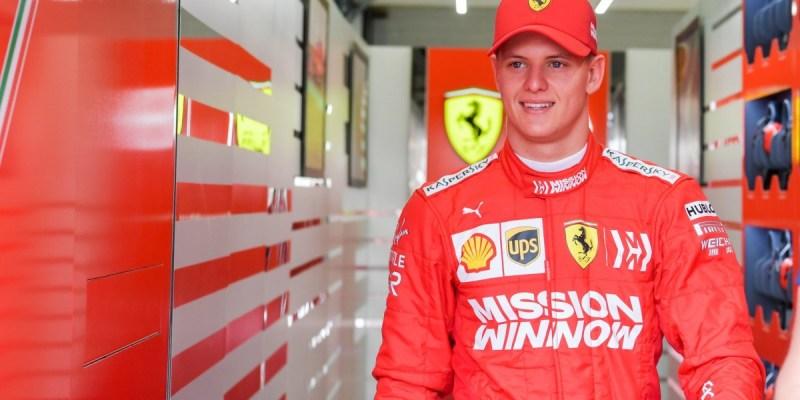 Anak Michael Schumacher Tes Mobil F1 Ferrari dan Alfa Romeo