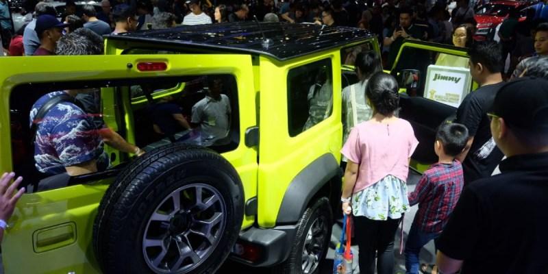 Suzuki Jimny Masih Jadi Magnet Kuat di Telkomsel IIMS 2019