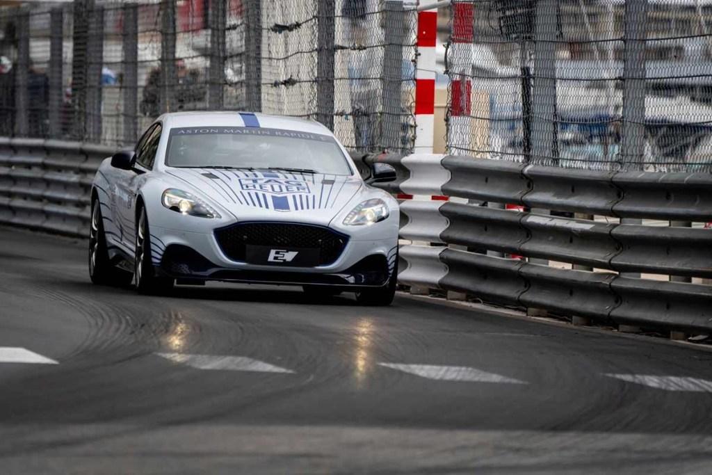 Aston Martin Rapid E Melesat di Formula E Monaco ePrix