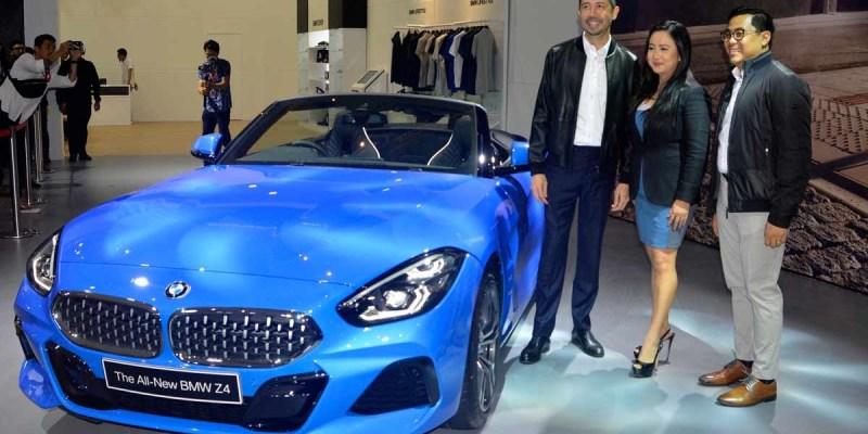 BMW Z4 sDrive30i Sudah Ada di IIMS 2019