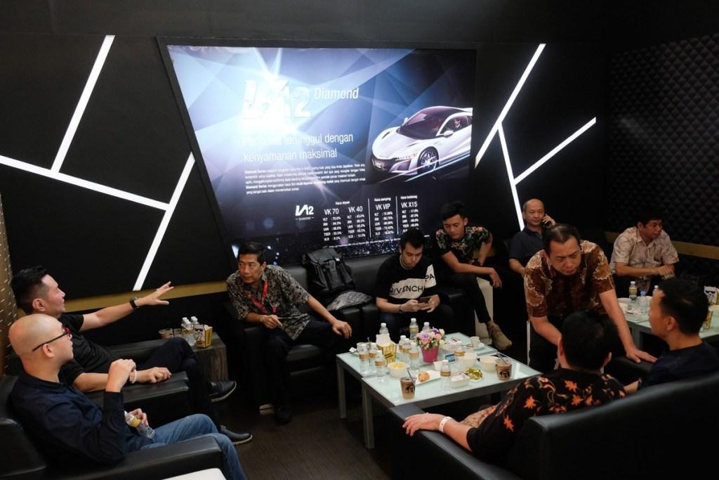 Menu Makanan dan Minuman Terbaik di 'Lounge' V-Kool IIMS 2019