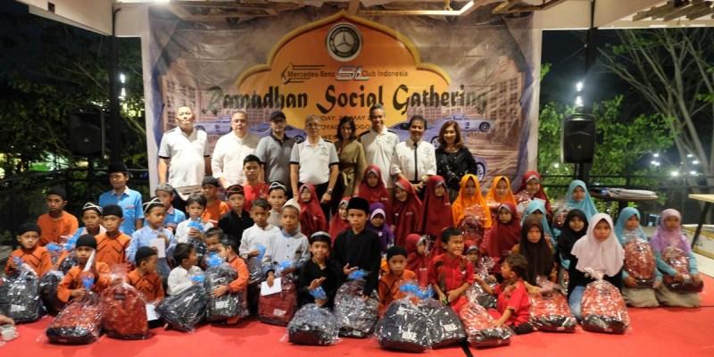 'MBSL Social Gathering', Kepedulian MBSL CI Kepada Sesama