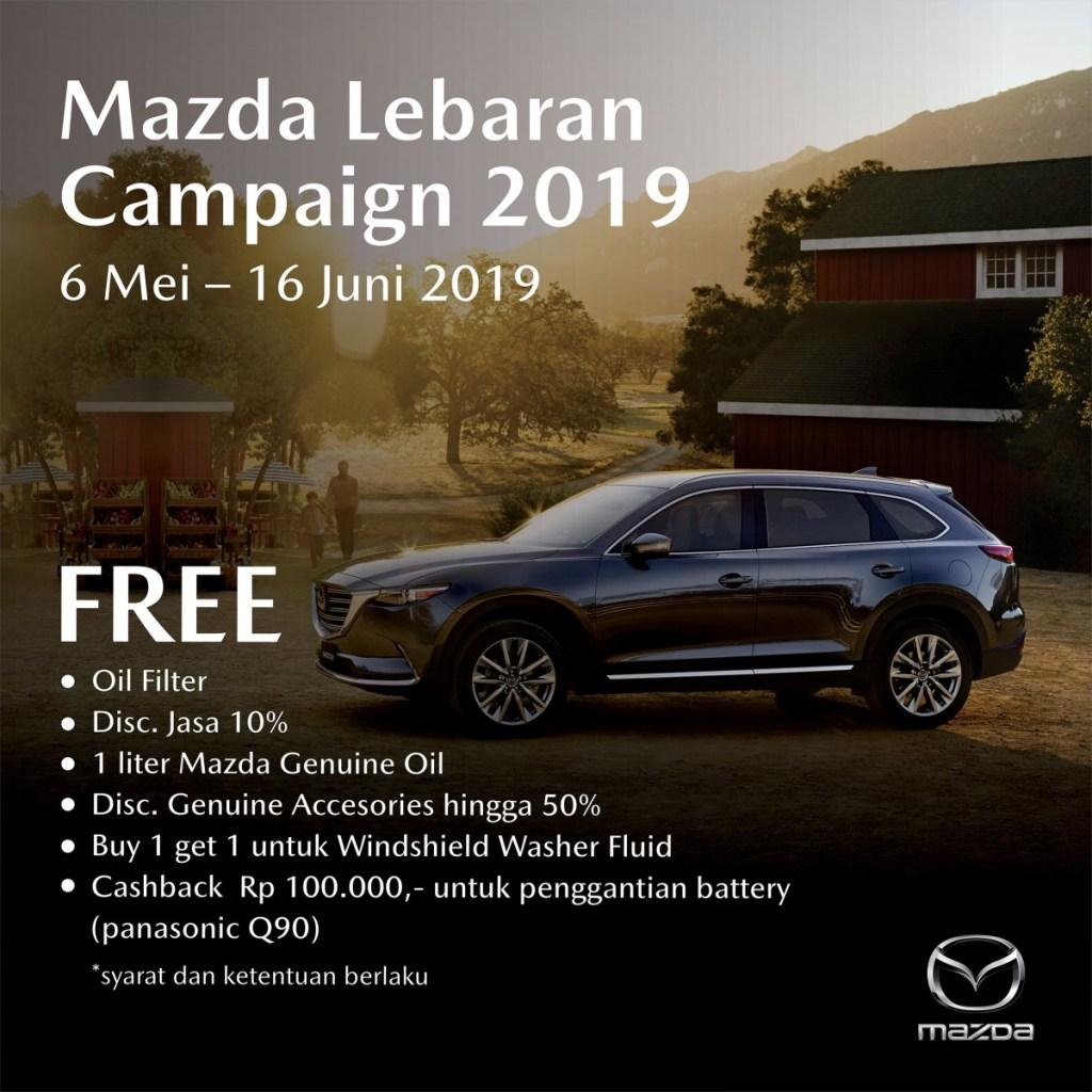 Promo Menarik Mazda Lebaran Campaign 2019