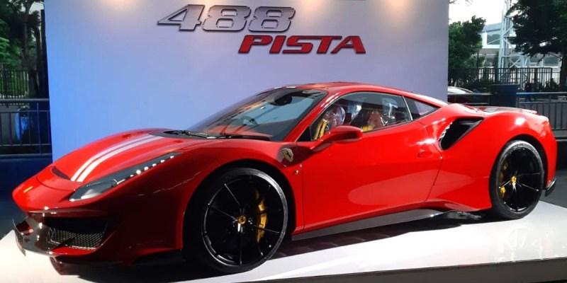 Ferrari 488 Pista, Hanya Satu di Indonesia