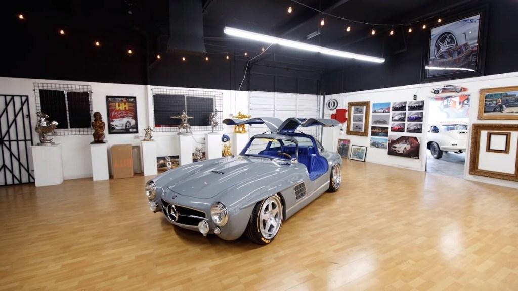 "Modifikasi ""Jelmaan"" Mercedes-Benz 300SL Gullwing"