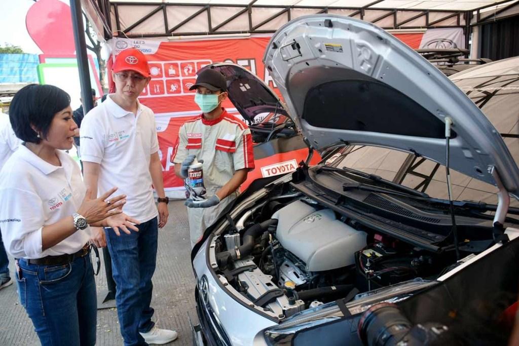 316 Titik Pelayanan Mudik Sudah Disiapkan Toyota