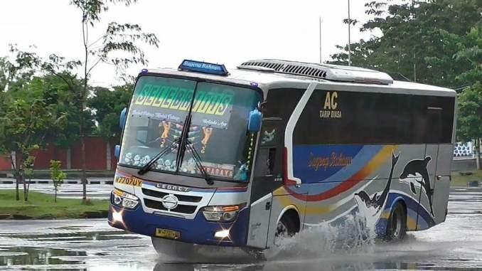 PO Sumber Kencono dan Shell Tingkatkan Keahlian Sopir Bus