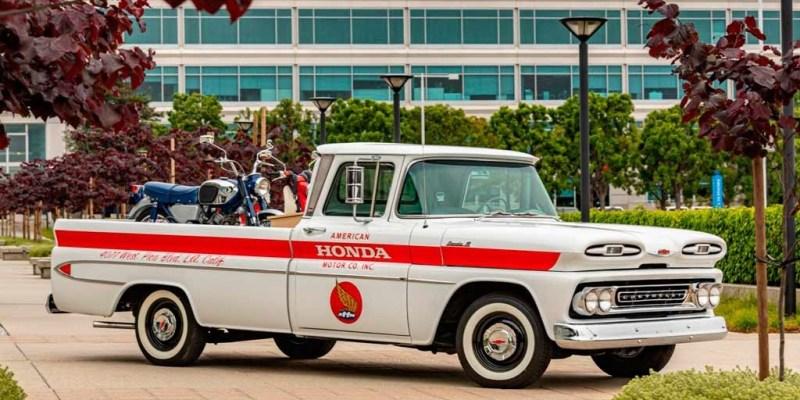 Chevrolet Apache 10, Pernah Jadi Pengangkut Motor Honda