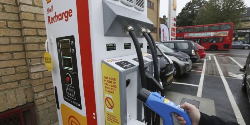 Sambut Era Kendaraan Listrik, Shell Sudah Punya Charging Station