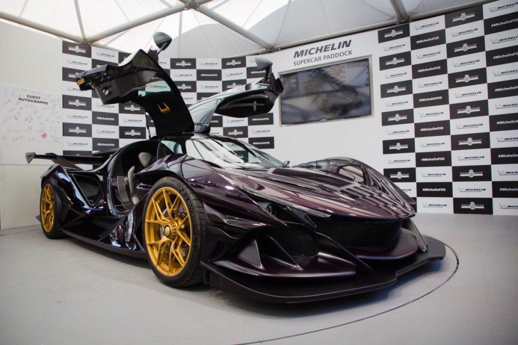 Michelin Supercar Paddock di Goodwood Festival of Speed 2019