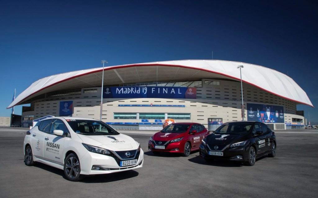 Mobil Listrik Nissan Jadi Kendaraan Official final UEFA Liga Champions