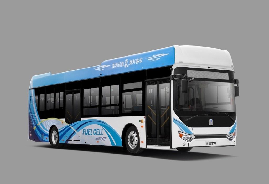 Geely Yuan Cheng Hadirkan Bus Hidrogen Tempuh 500 KM