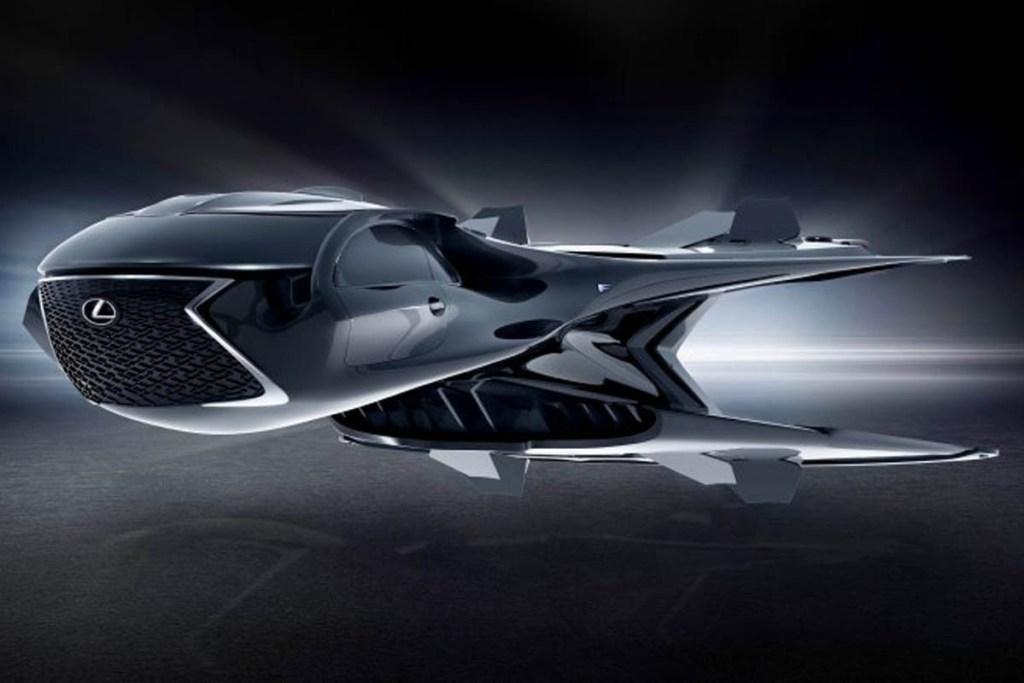 Ini Dia Jet Lexus di Film Men in Black