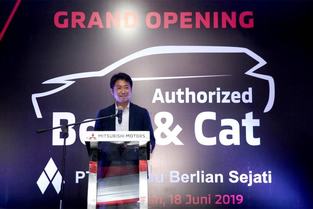 Peresmian Fasilitas Body & Cat ke-13 Mitsubishi di Balikpapan