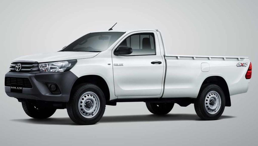 Toyota Hilux Single Cabin Diesel Disuguhkan Mesin Baru
