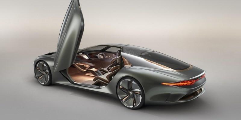Bentley EXP 100 GT, Masa Depan Mobil Mewah