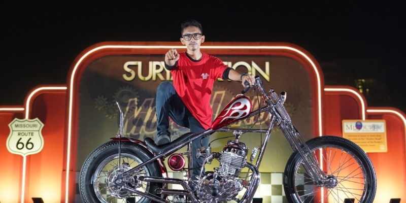 Honda XR 400 Best of The Best Suryanation Motorland 2019 Medan