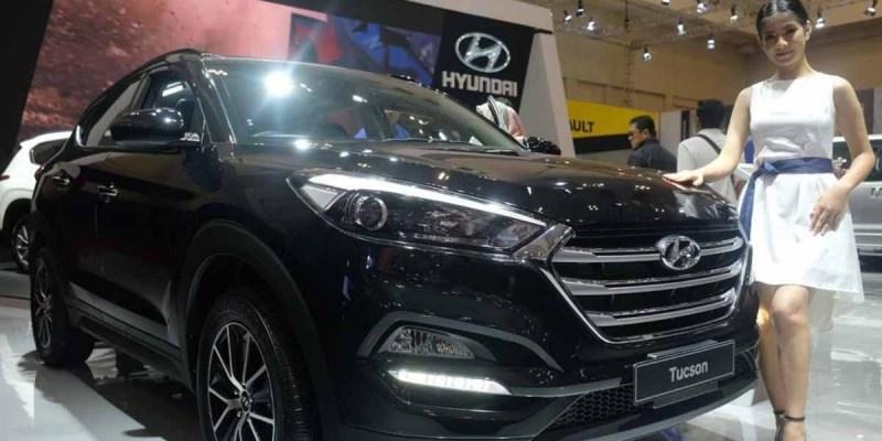 SUV Modern All New Hyundai Tucson XG CRDi Mejeng di GIIAS 2019