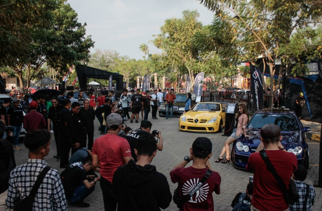 Gaya Street Racing Mendominasi Intersport Auto Show 2019 di Tegal