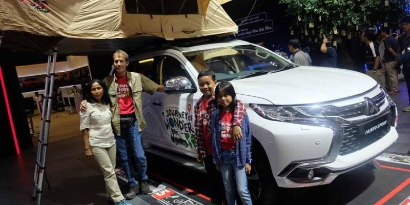'Joy of Wonder', Perjalanan Keliling 34 Negara Dengan Pajero Sport