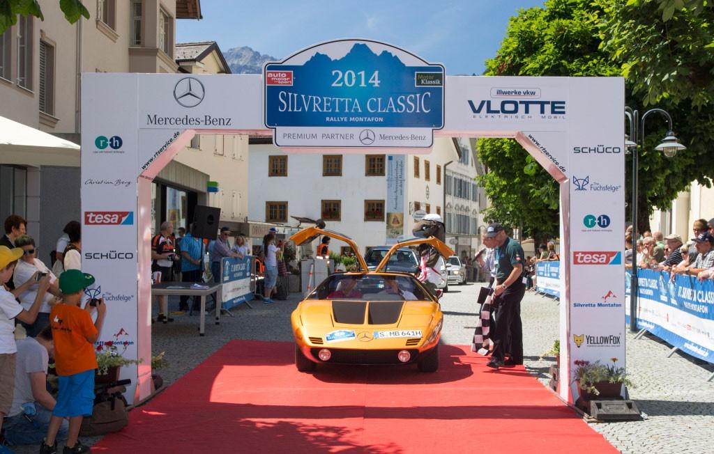 6 Mobil Klasik Mercedes-Benz Ikut Silvretta Classic Rallye Montafon 2019