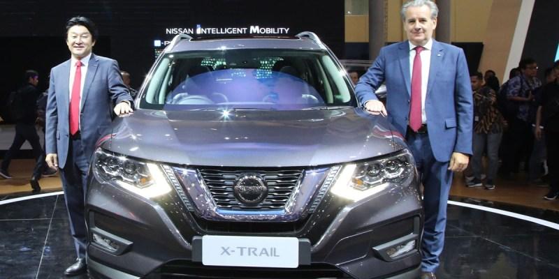 New Nissan X-Trail Buka Banderol di GIIAS 2019