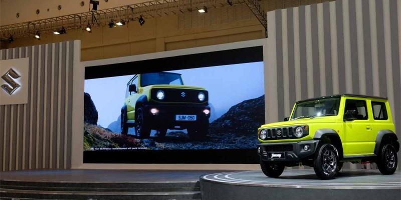 Suzuki Jimny Generasi Keempat, Lebih Fungsional