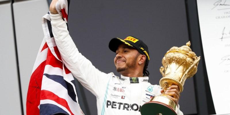 F1 Inggris 2019: Hamilton Perpanjang Rekor Menang di Silverstone