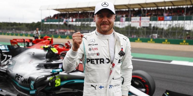 Hasil Kualifikasi F1 Inggris 2019: Valtteri Bottas Raih Pole Position