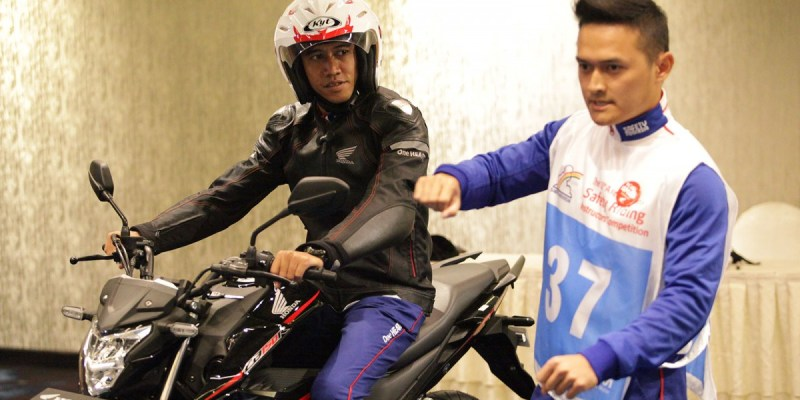 Instruktur DAM Raih Juara Ke-2 Kompetisi Safety Riding