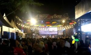 Meriahnya Acara Merceday Benz ke-4 di Bandung
