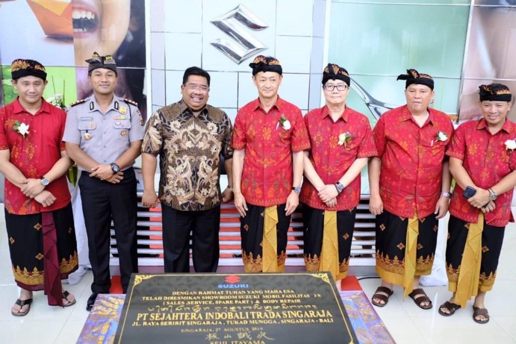 PT SIS Resmikan Outlet 3S dan Body Repair & Paint Ketujuh di Bali