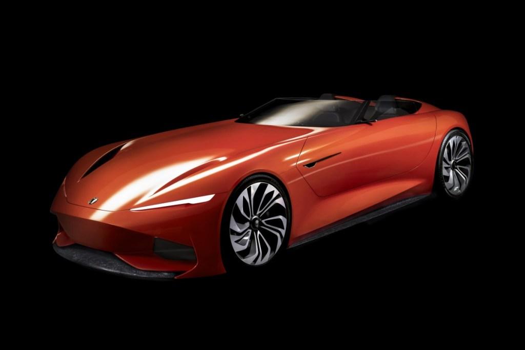 Karma SC1 Vision Concept Debut Perdana Amerika Utara