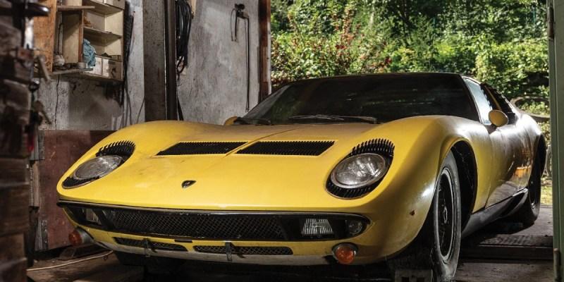Lamborghini Miura P400 S 1969 Ini Dilelang