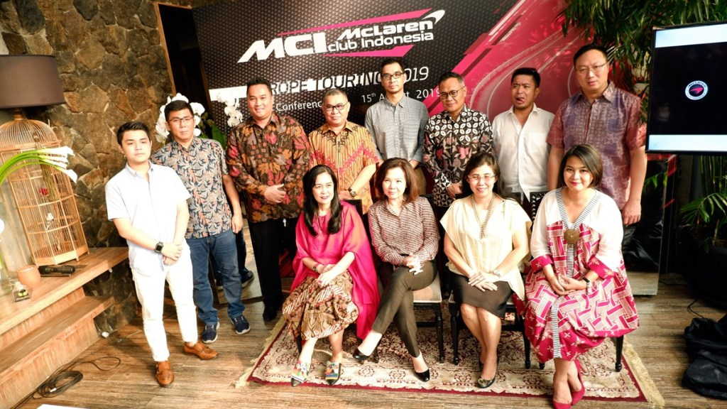 McLaren Club Indonesia Gelar Europe Touring 2019