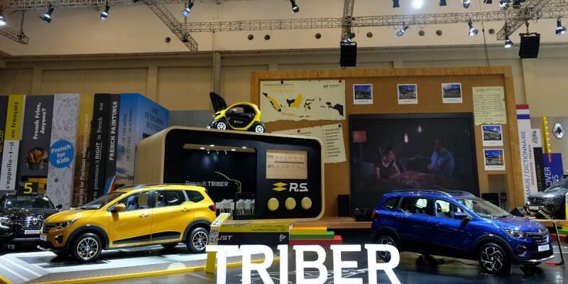 Capai 1.033 Unit, Triber Kuasai SPK Renault di GIIAS 2019