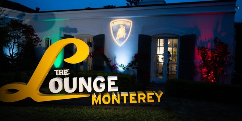"""The Lounge Monterey"" Versi Lamborghini"