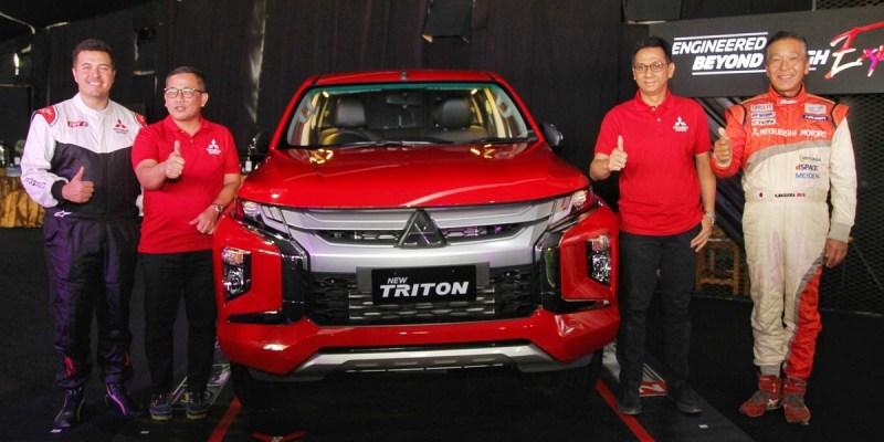 PT MMKSI Eksplor New Triton di Medan off-road Balikpapan