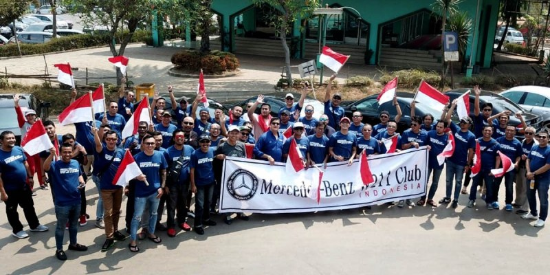 MB W211 CI Raih Predikat 'Touring Terfavorit' di Merceday Benz