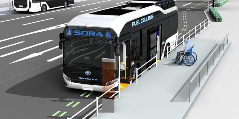Bus Toyota Sora, Kian Aman di Jalan