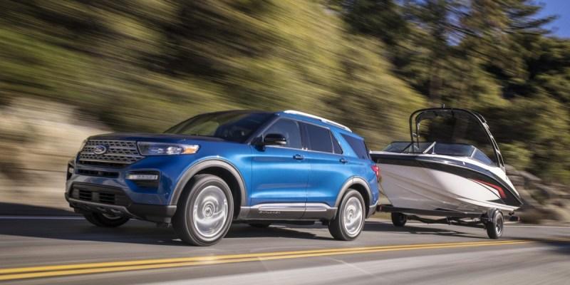 Ford Explorer Limited Hybrid, 68 liter BBM Bisa Tempuh 800 KM!
