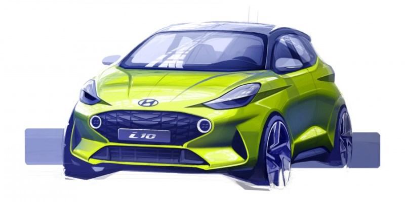 Hyundai i10 Generasi Ketiga, Ini Sketsanya!