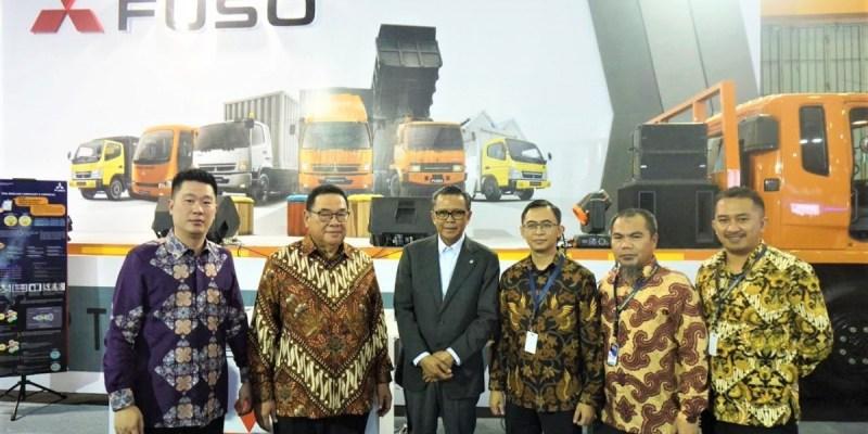 Bidik Indonesia Timur, Truk Fuso Hadir di GIIAS Makassar