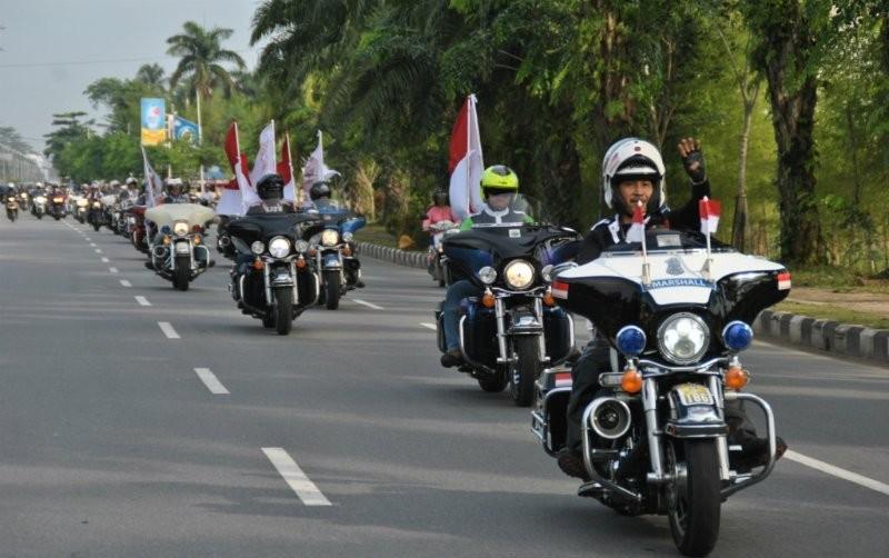 HDCI Prakarsai Touring 3 Negara dengan Misi Khusus
