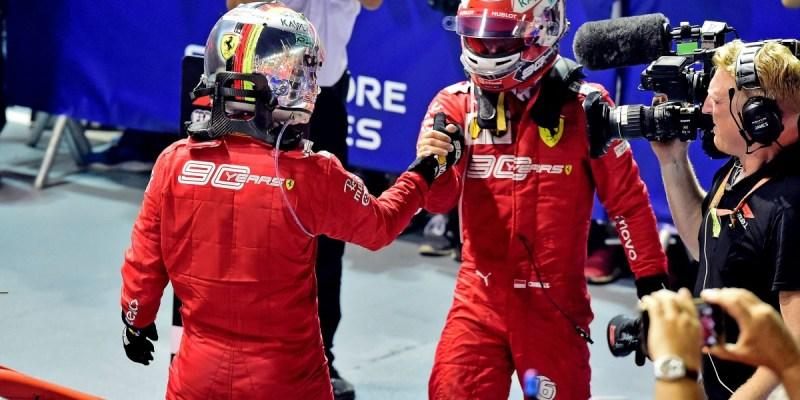 F1 Singapura 2019: Leclerc Pasrah Kemenangan Diambil Vettel