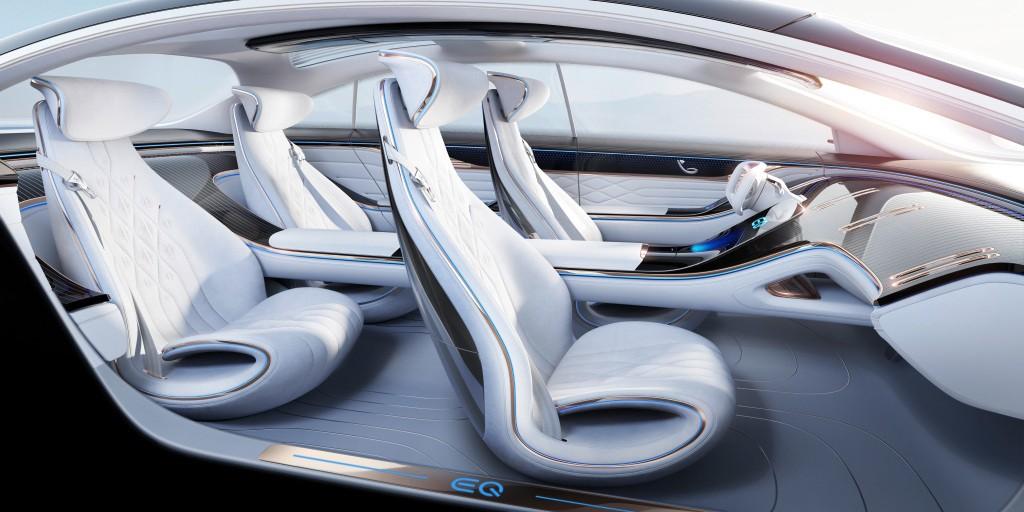 Mercedes-Benz Vision EQS, Terjemahan Sedan Masa Depan