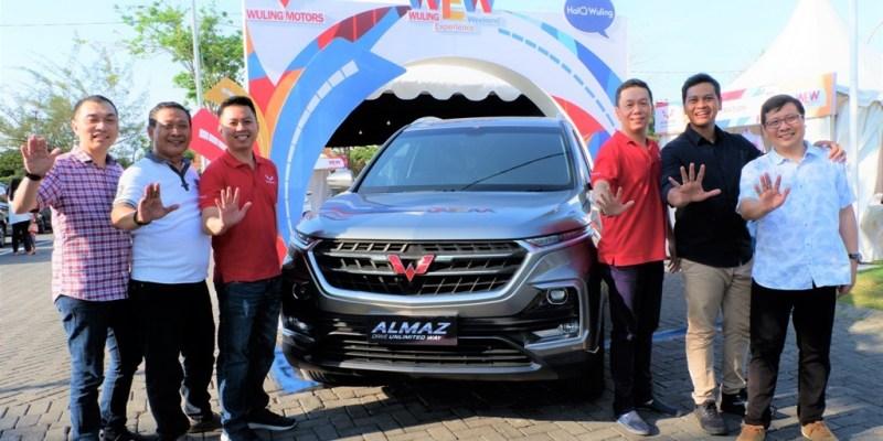 Kemeriahan Wuling Experience Weekend di Surabaya