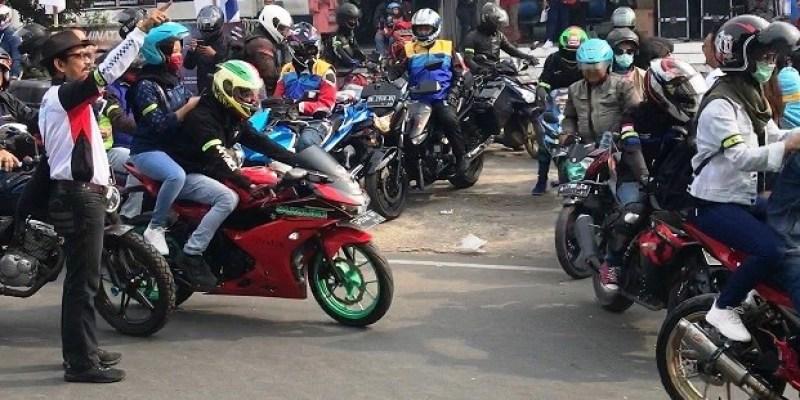 450 Bikers Suzuki Ramaikan Sunmori Pantai Ujung Barat Pulau Jawa