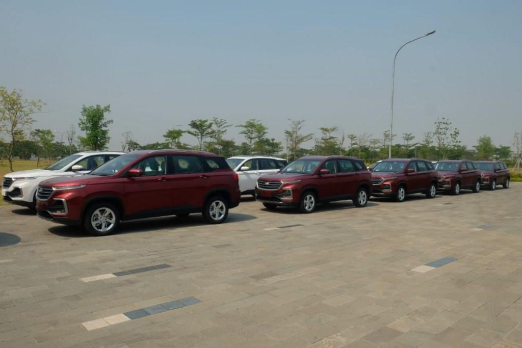 Wuling Motors Indonesia Ekspor Perdana Chevrolet Captiva