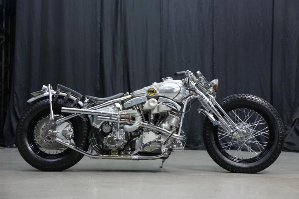 """Harley-Davidson S&S Pan Shovel 93 CL 'Bobber"""" ala Kedux Garage"""